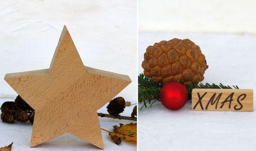Diy Sterne aus Holz