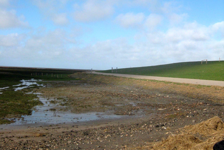 Nordfriesland Wattenmeer bei Ebbe