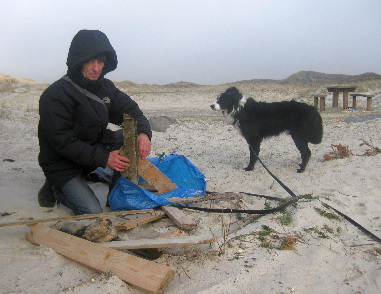 schöne Sandstrände in Dänemark, ideal zum Treibholz sammeln