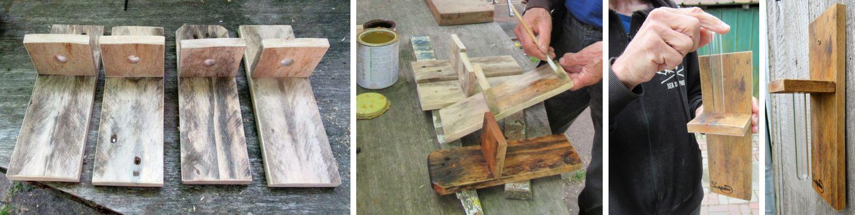 Gartendeko modern und nachhaltig , diy, aus Palettenholz