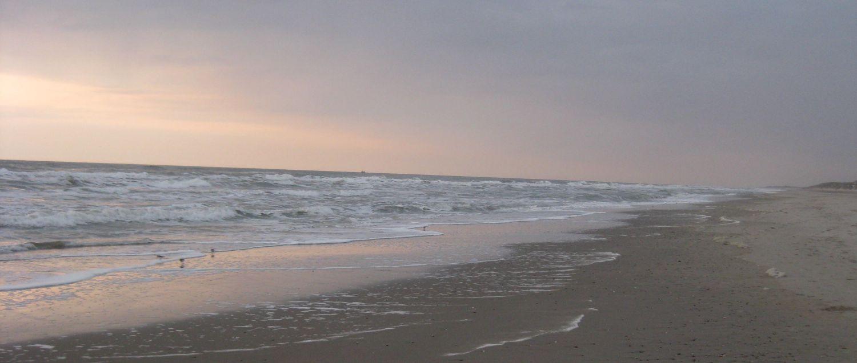 der Strand auf Texel, Niederlande
