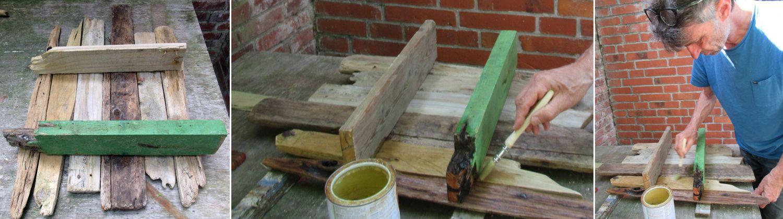 Anleitung Regal aus Treibholzbrettern bauen, diy