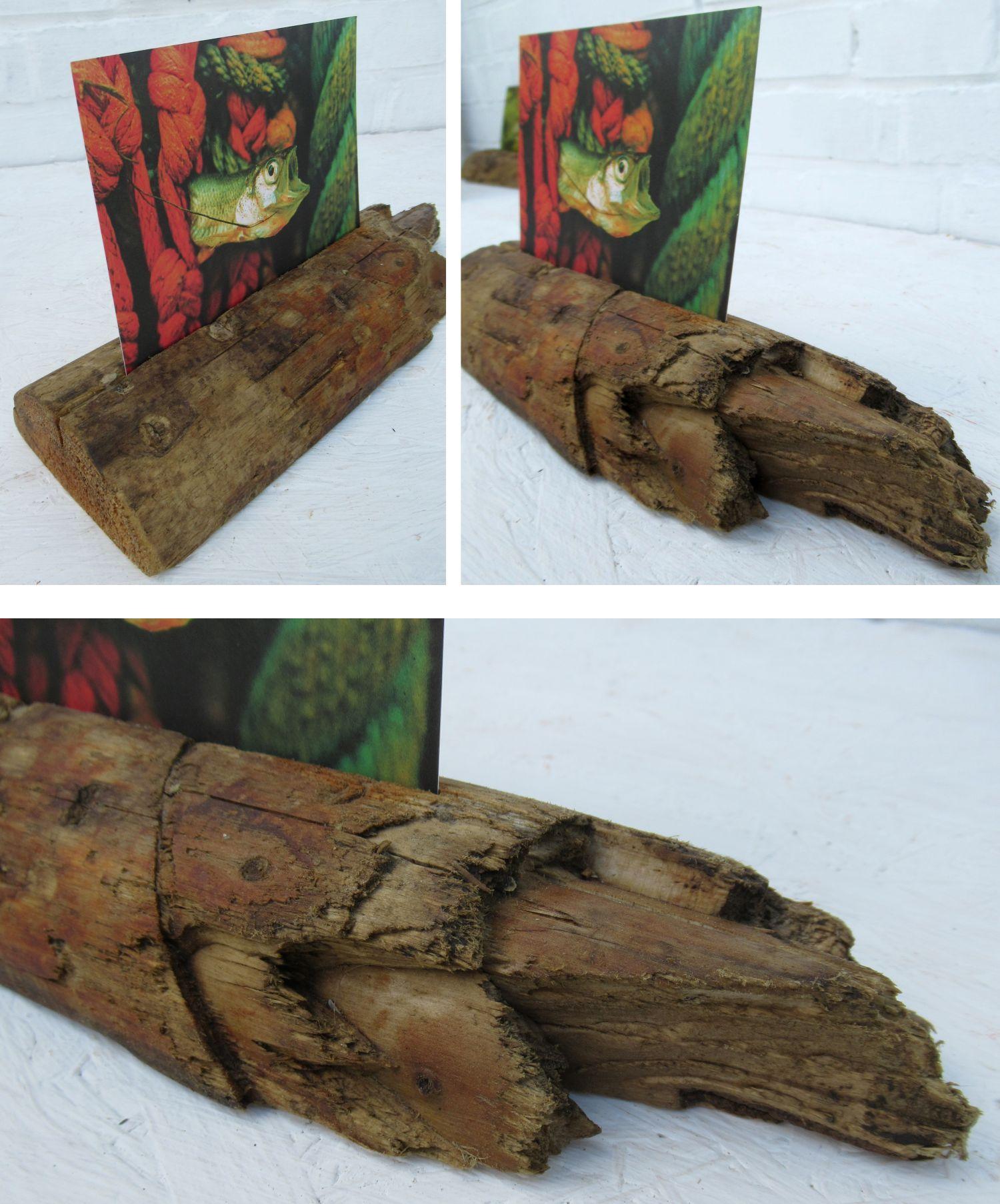 Treibholz mit seinen wunderbaren Strukturen eignen sich zum Selbermachen von Wohnaccessoires