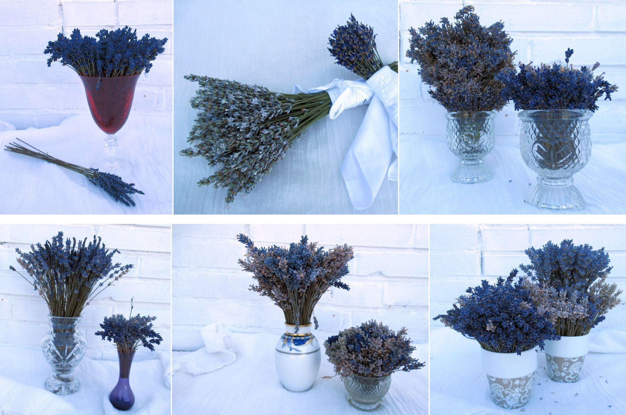 Dekorationen mit Lavendel für den Landhausstil