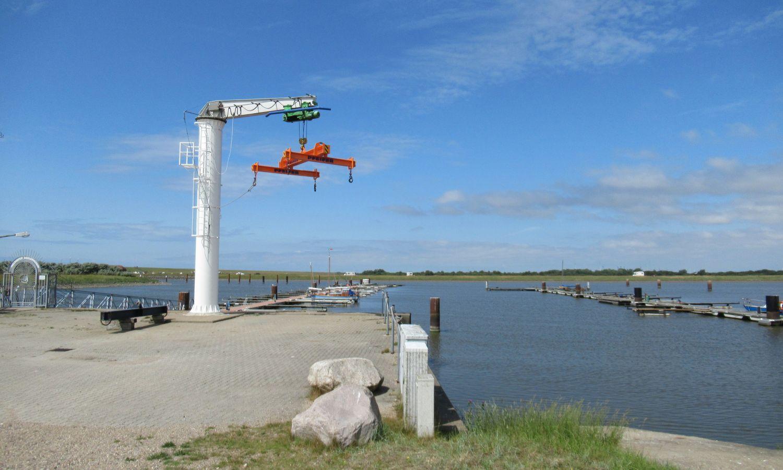 Der Meldorfer Hafen