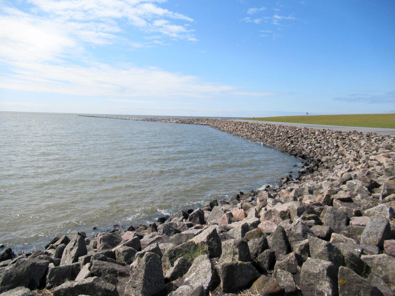 Die Nordsee am Meldorfer Hafen