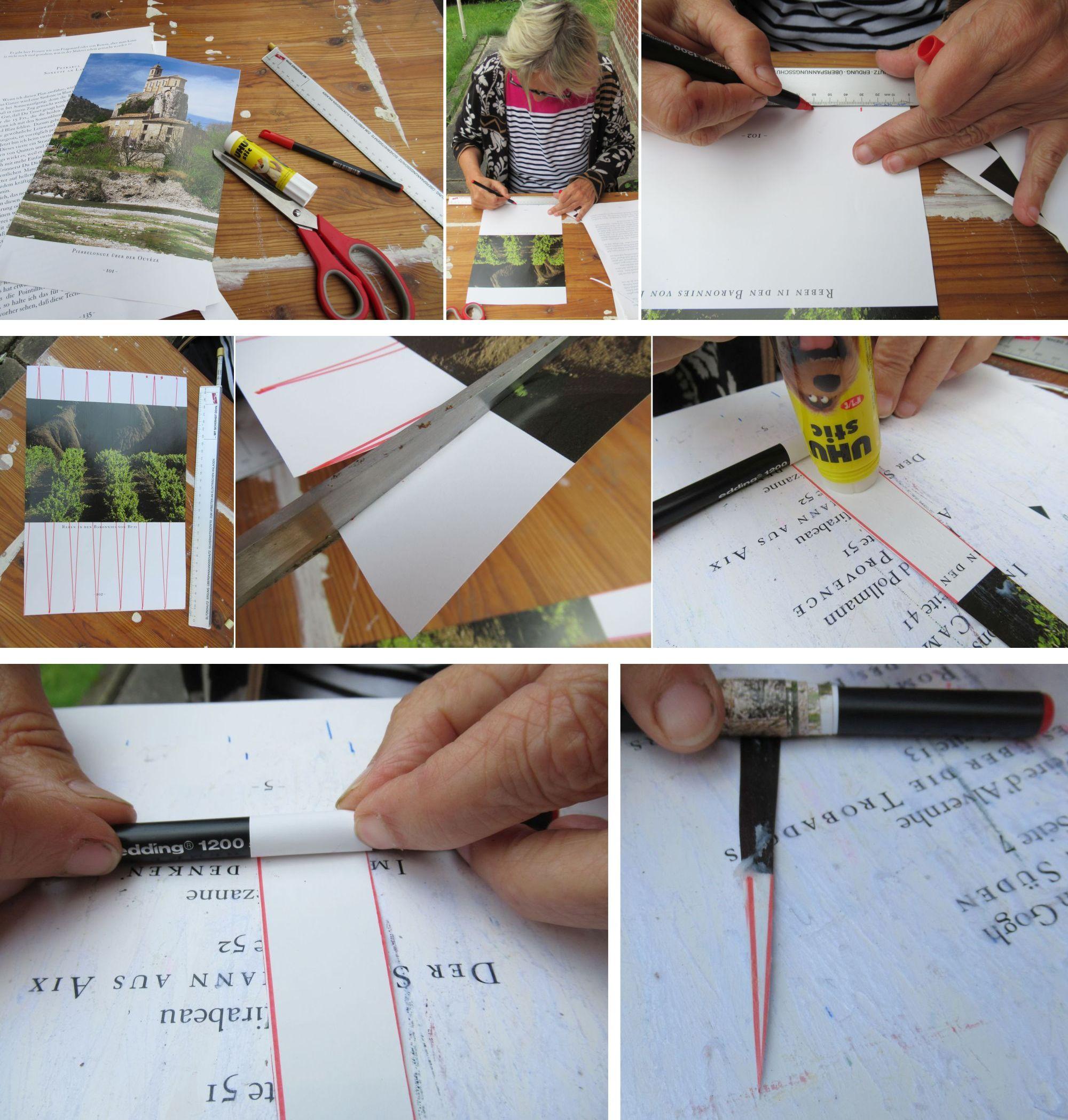 Anleitung Papierperlen aus Altpapier herstellen