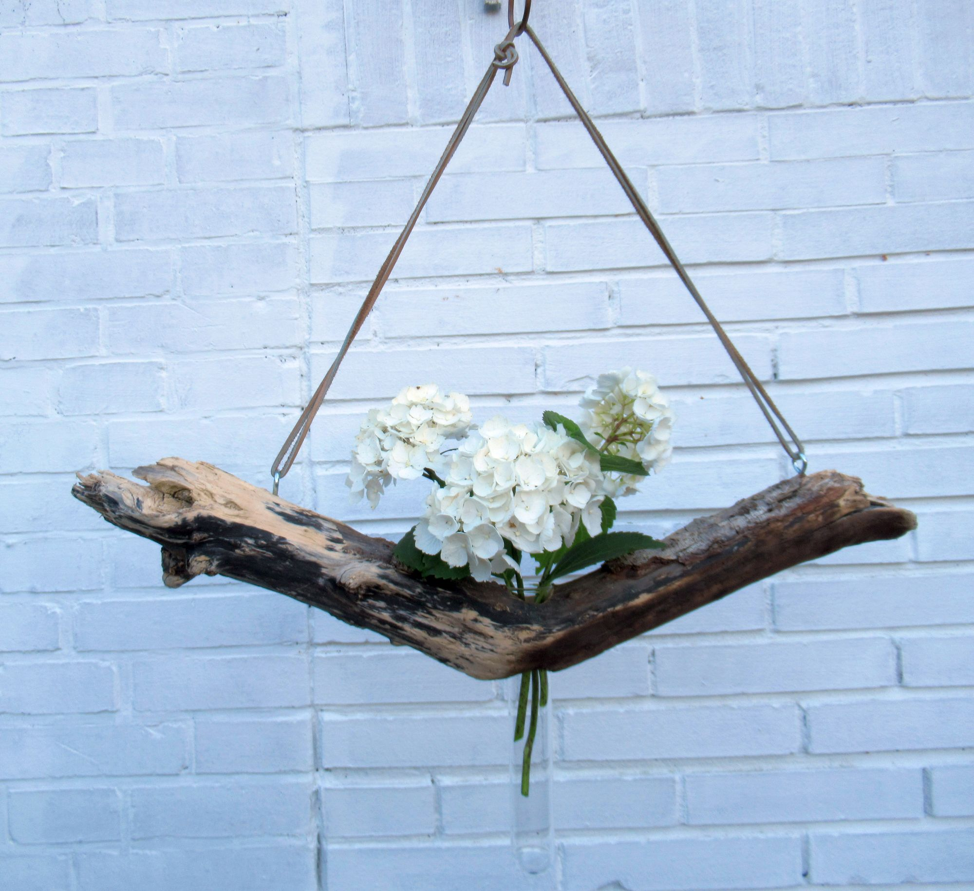Treibholz als Vase, Bauanleitung