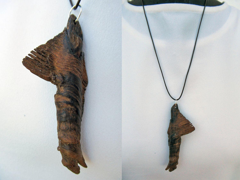 Außergewöhnliches Treibholz als Kettenanhänger, diy