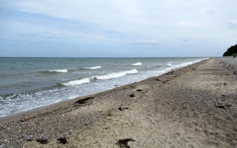 Die Ostsee in Dänisch Nienhof mit dem schönen Strand