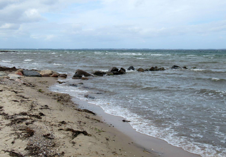 Schwedeneck an der Ostsee, Strandbild