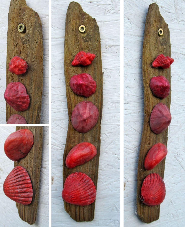 Basteln mit Muscheln und Treibholz für moderne Deko-Objekte