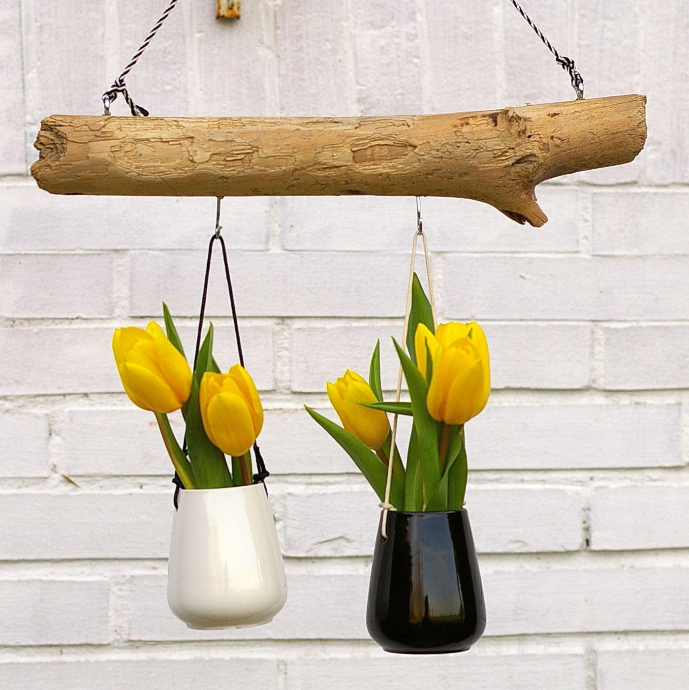 Treibholz Dekorationen für das Fenster zum Selbermachen