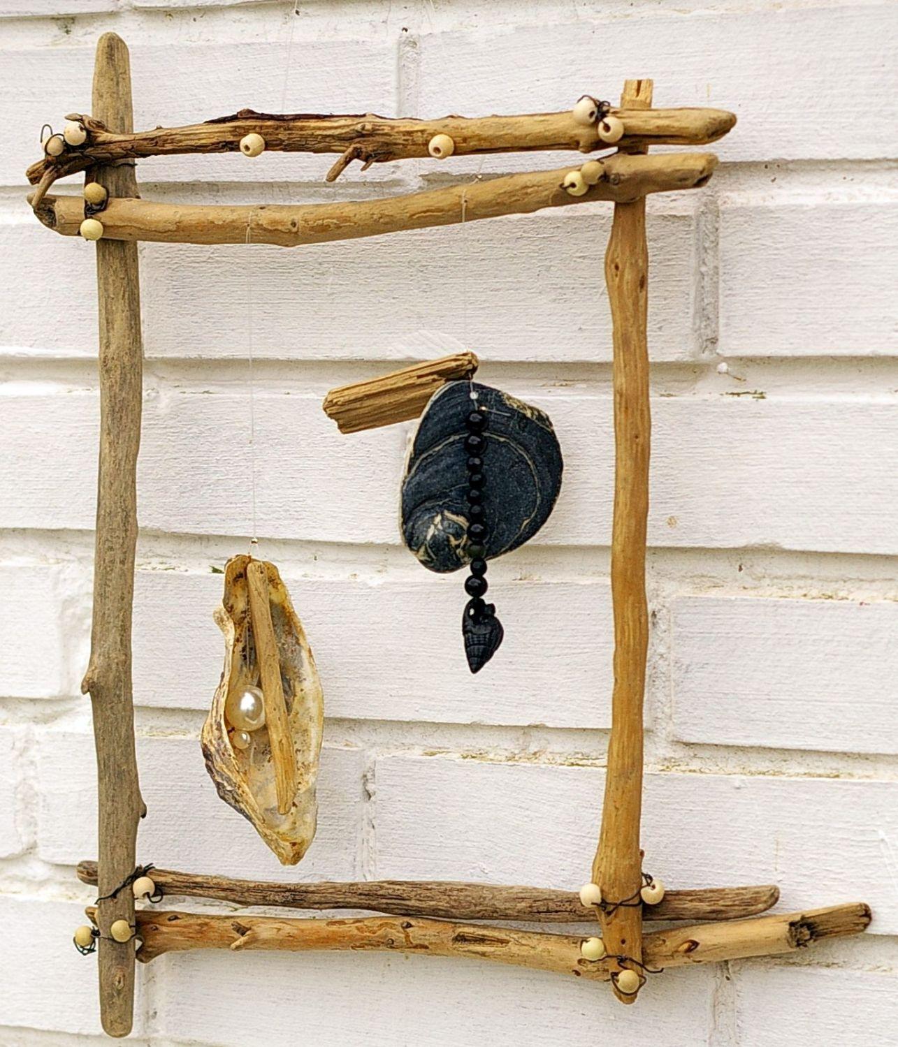 Gartendeko aus Treibholz selbermachen