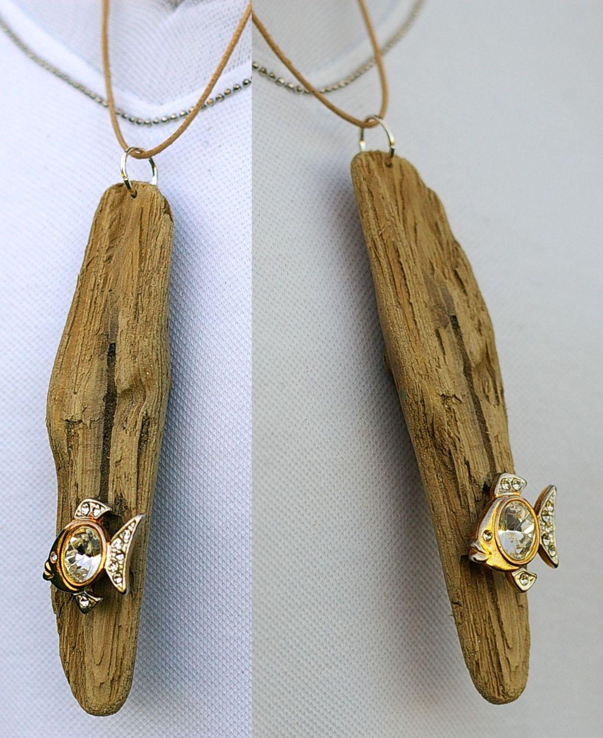 handmade driftwood jewellery