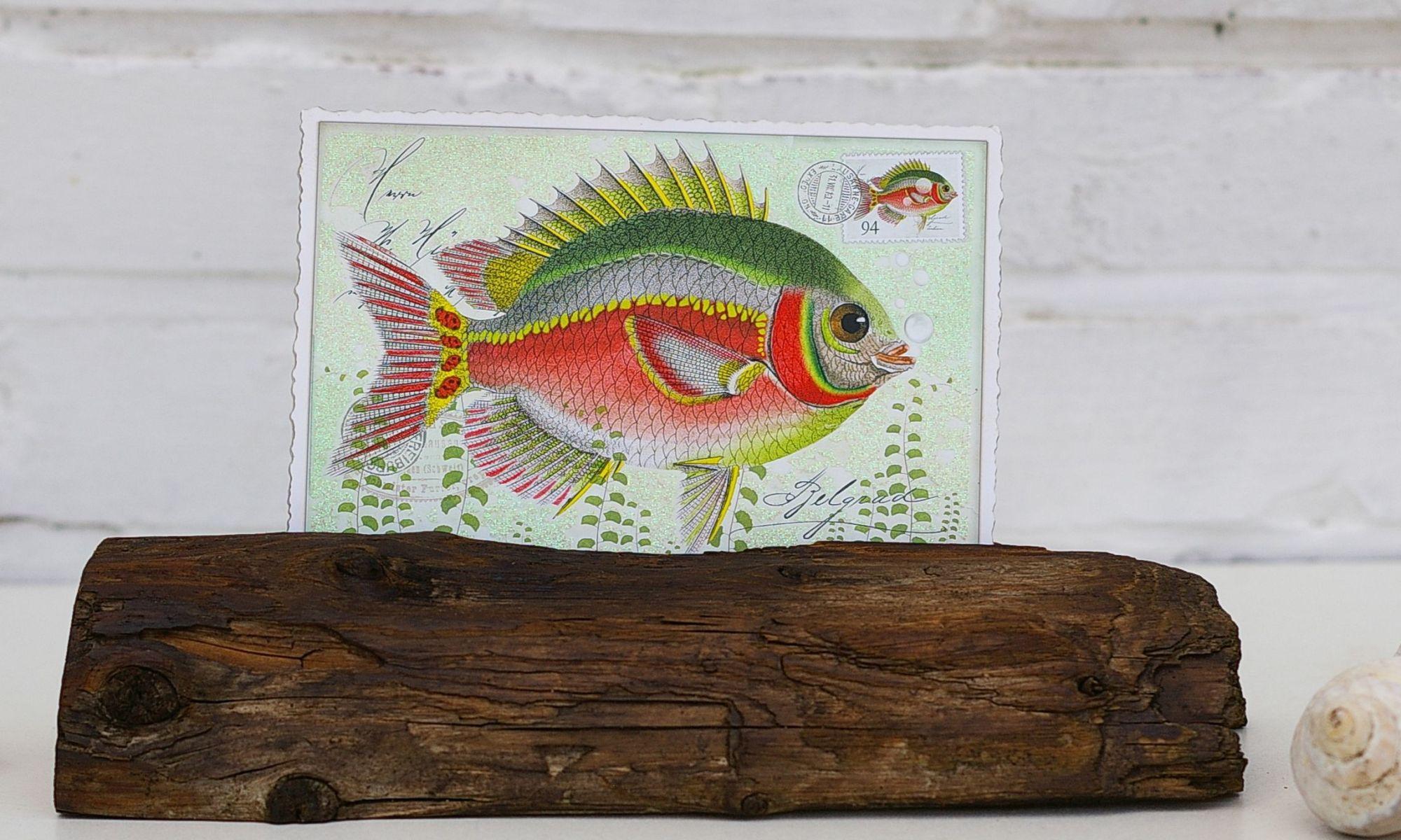 Staender für Postkarten selbermachen