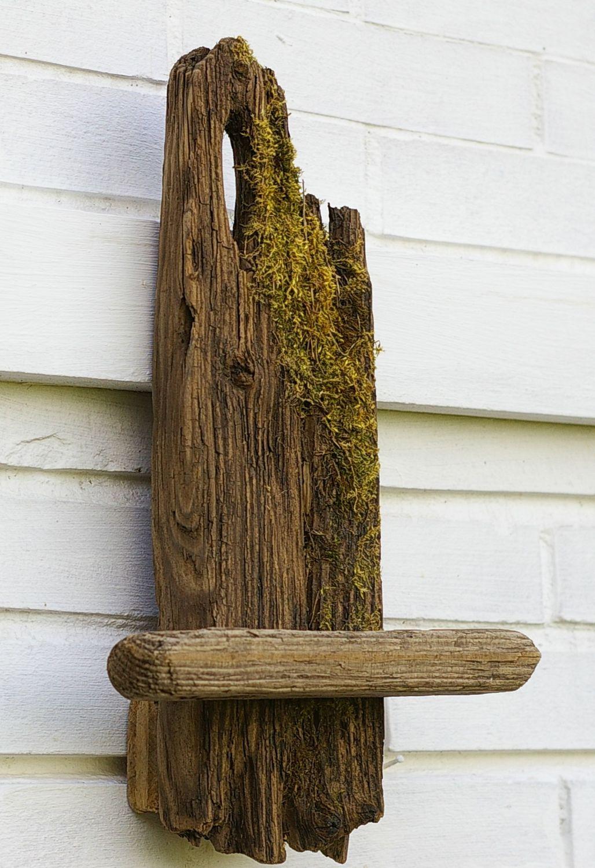 Regal aus Treibholz, selbermachen