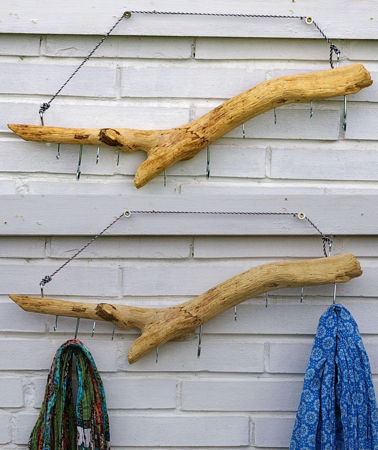 Hakenleisten aus Treibholz, eine schöne Diy Idee