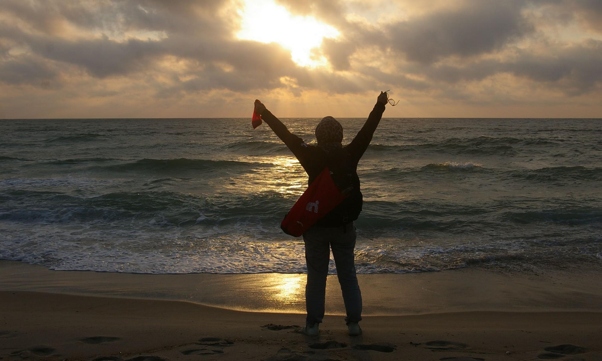 Faszinirende Sonnenuntergänge am Meer
